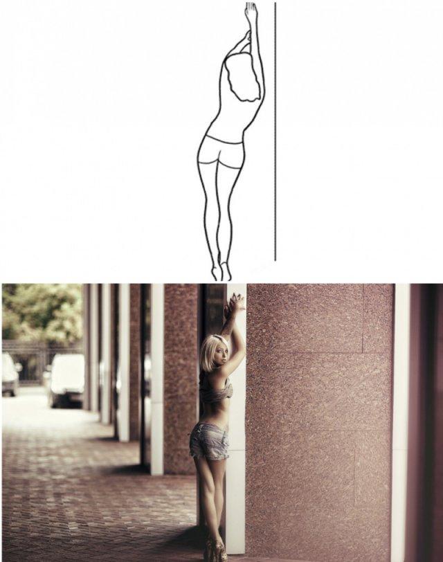20 вдалих поз для жіночої фотосесії (фото)