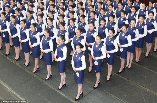 Як в Китаї стюардес вибирають? (фото)