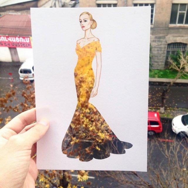 Чарівні сукні художника Едгара Артіса (фото)