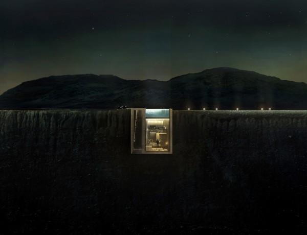 Будинок в скелі: небезпечно і неймовірно прекрасно (фото)