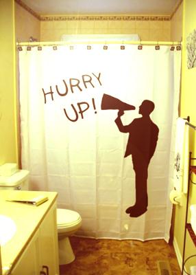Цікаві шторки у ванну кімнату (фото)