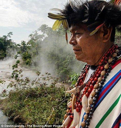 Річка, в якій можна зваритися заживо (фото)