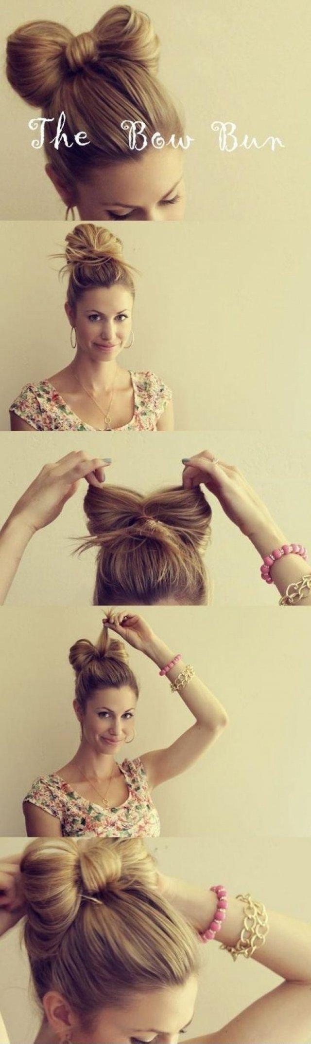 10 способів вкласти волосся, якщо ви запізнюєтеся (фото)
