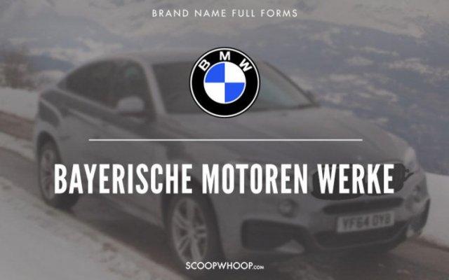 Що означають назви відомих брендів?