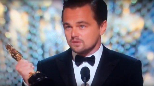 Цього року Лео таки отримав Оскара (відео)