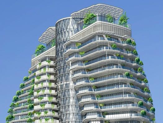 5 зелених хмарочосів майбутнього (фото)