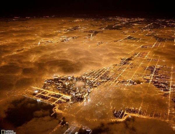Міста світу з висоти пташиного польоту (фото)