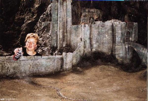 Декорації з фільму «Володар перснів» (фото)