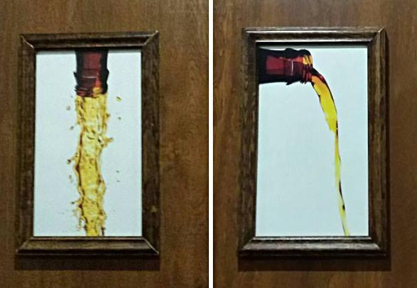 Креативні вказівники на дверях туалетів (фото)