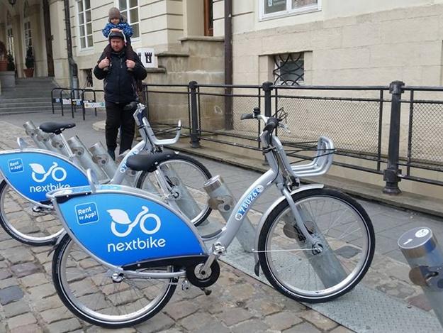 У Львові запрацював перший муніципальний велопрокат