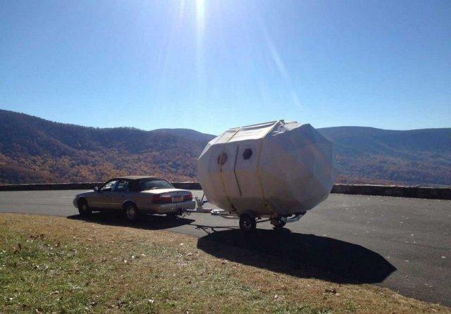Life Pod - мобільний будиночок на колесах (фото)
