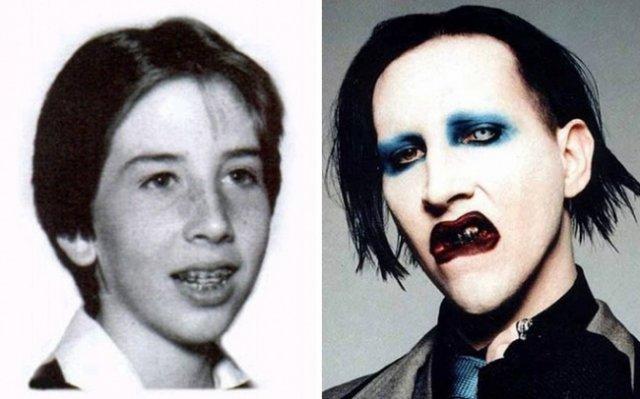 Як виглядали популярні музиканти в юності (фото)