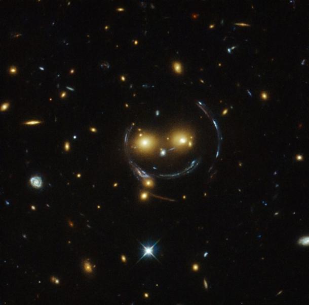 На зоряному небі виявлено величезний смайл