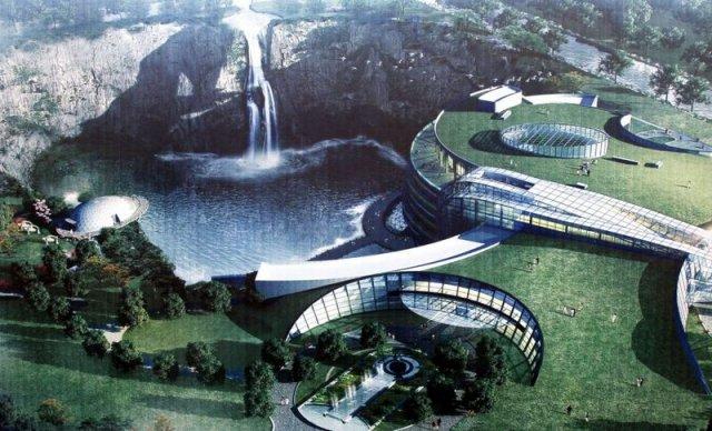 Проект готелю у закинутому кар'єрі (фото)
