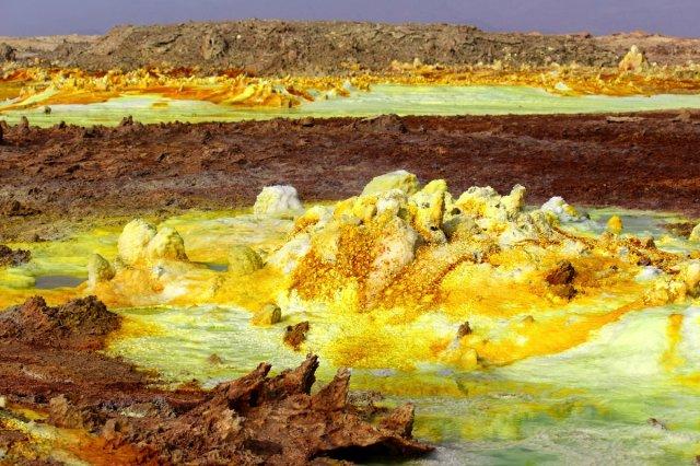 Западина Данакіль: найдивніше місце на планеті (відео)