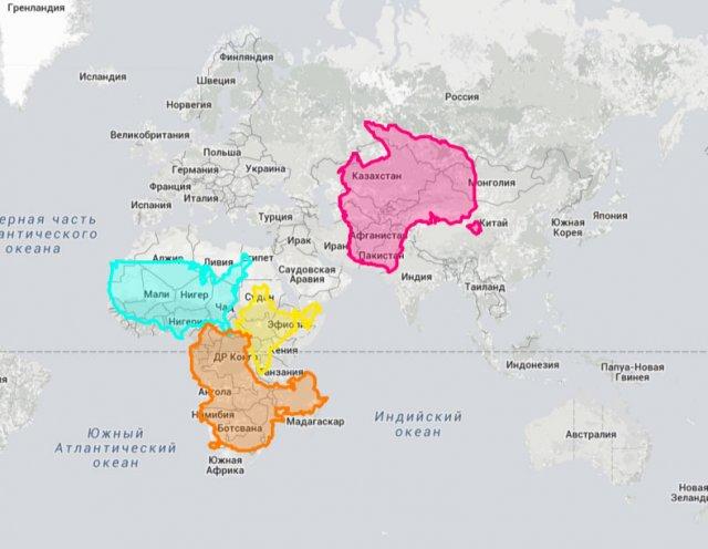 Як дізнатися, яка з двох країн більша?