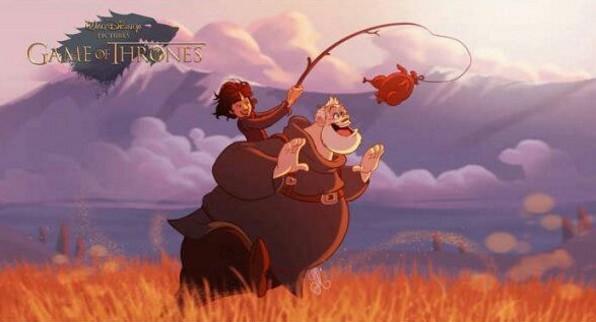 Якби «Гру престолів» малювала студія Disney