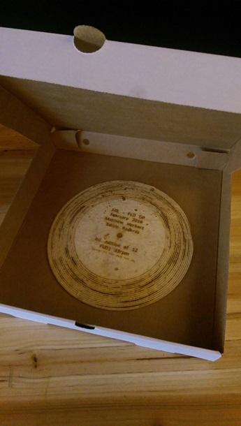 Британський музикант випустив їстівну платівку з хліба