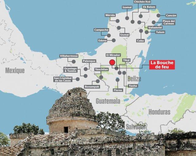 15-річний хлопець знайшов загублене місто майя по зоряній схемі