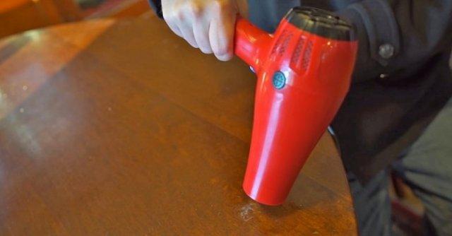 Для чого можна використати звичайний фен? 8 геніальних способів