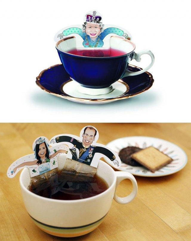 Креативні чайні пакетики (фото)