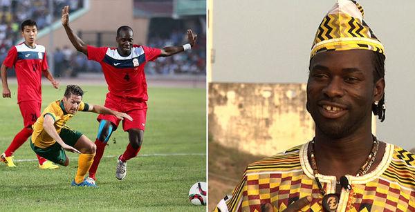 Футболіст - майбутній африканський король