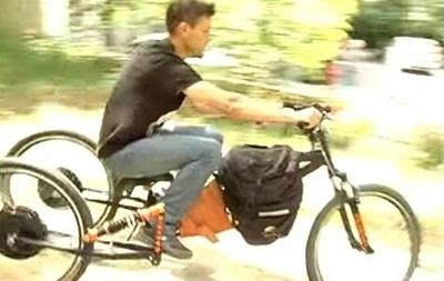 Українці розробили триколісний байк на електричному ходу