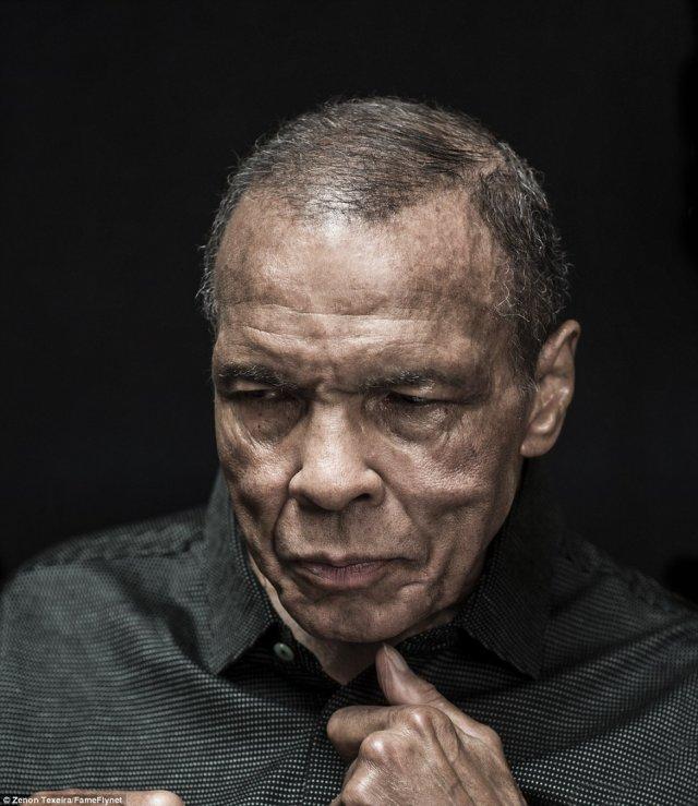 Останній портрет Мухаммеда Алі: як боксера змінили 30 років життя з хворобою Паркінсона (фото)