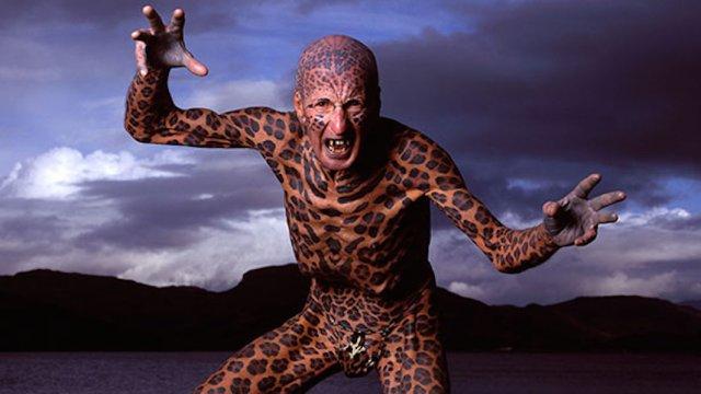 Помер найбільш татуйований літній чоловік на світі