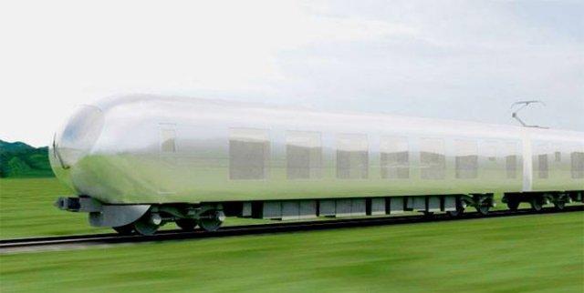 Японські архітектори створили концепт невидимого поїзда