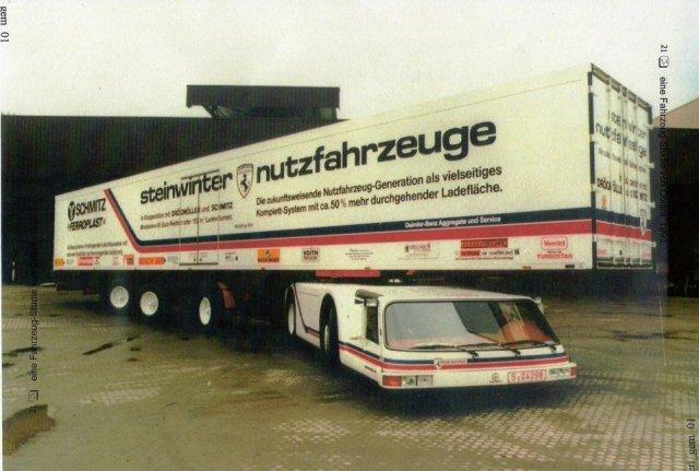 Steinwinter Supercargo - вантажівка-контейнеровоз 80-х років (фото)