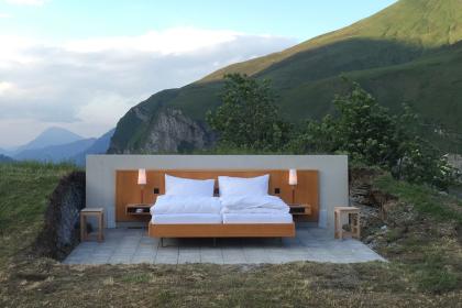 Незвичний готель в Швейцарії