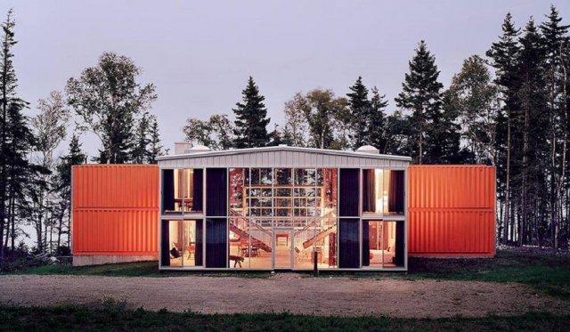 Будинки з контейнерів (фото, відео)