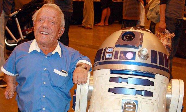 Помер актор, який грав R2-D2 у «Зоряних війнах»