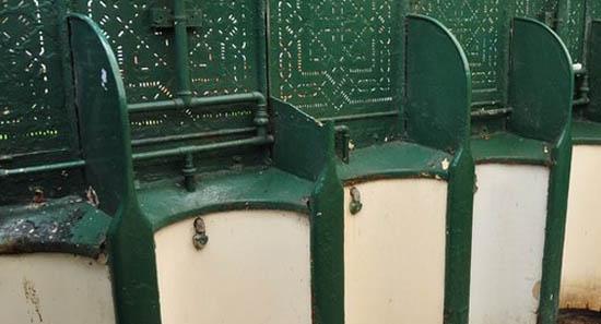 Громадський туалет - пам'ятник архітектури
