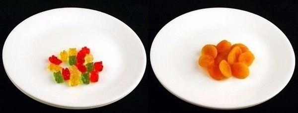 Як виглядають 200 кілокалорій в різних продуктах (фото)
