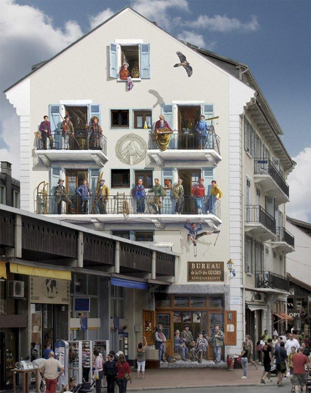 Фасадні картини Патріка Коммесі (фото)