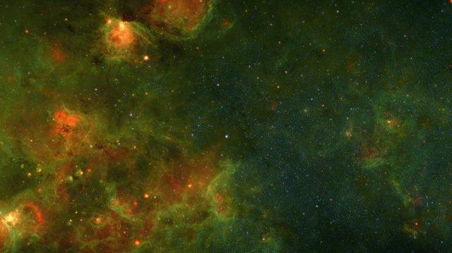 Відео з 400 000 фотографій Чумацького Шляху в одному ролику (відео)