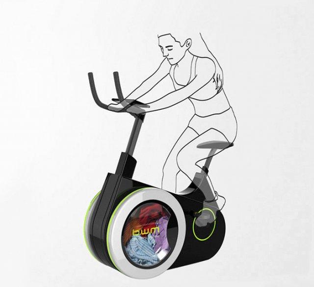 Пралька - велотренажер (фото)