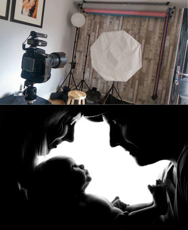Як насправді фотографують моделей, речі та їжу для реклами (фото)
