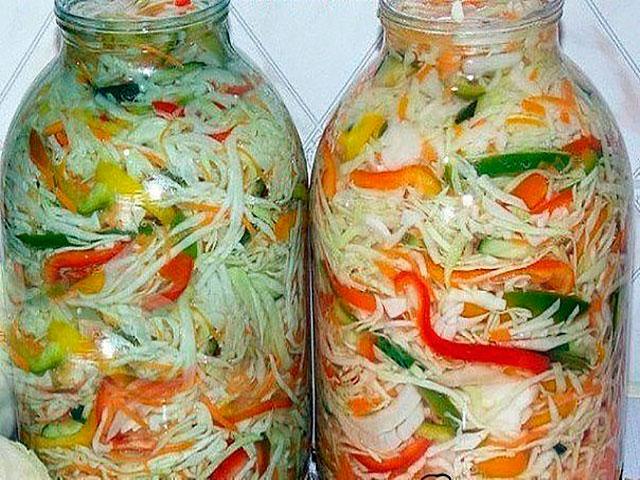 Салат зимний рецепт очень вкусный на зиму
