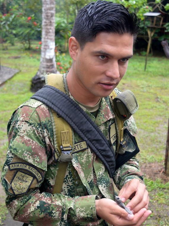 Колумбійські ВМС та рятування маленьких черепашок (фото)