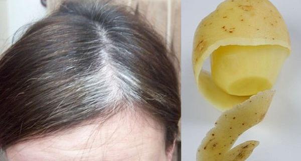 Картопля допоможе позбутися сивого волосся