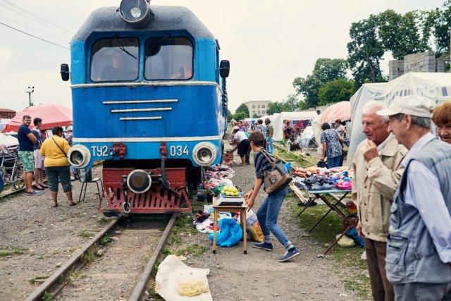 Вузькоколійні залізниці України (фото, відео)
