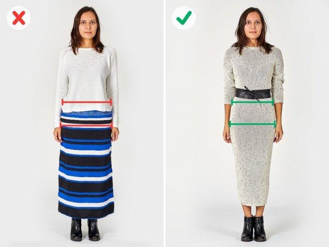 7 помилок у виборі одягу, які заважають нам виглядати стрункішими