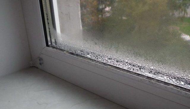 Як позбутися конденсату на пластикових вікнах?