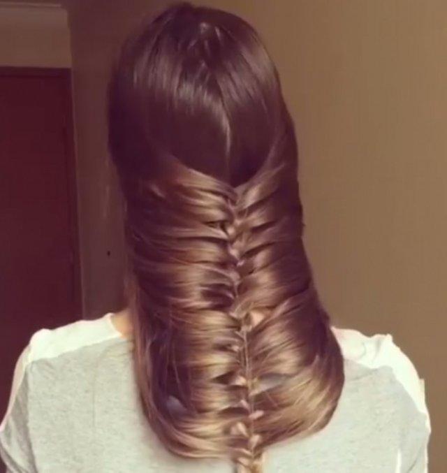Оригінальний спосіб заплести волосся (фото, відео)