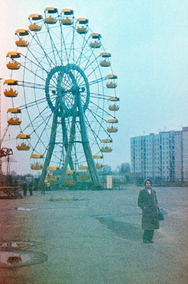 Прип'ять. 30 років по тому (фото)