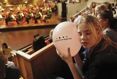 Повітряні кульки і симфонічна музика