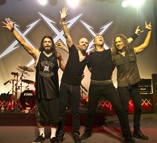 Metallica визнана найбільш затребуваною метал-групою в світі